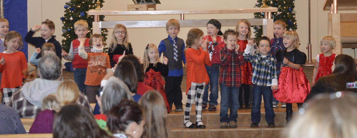 Preschool at Christmas