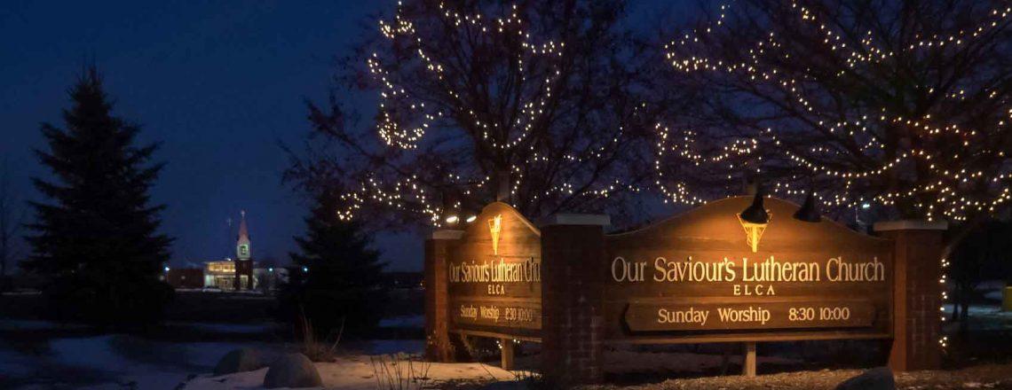 Our Saviour's Church at Night