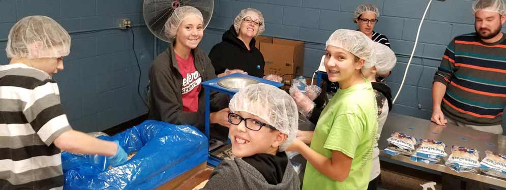 Feed My Starving Children Confirmation Event